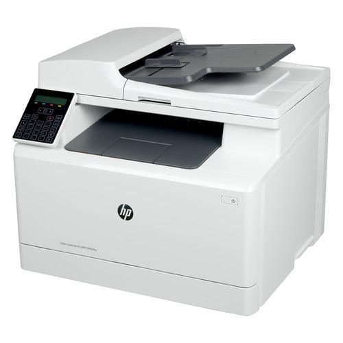Фото - МФУ лазерный HP Color LaserJet Pro MFP M181fw, A4, цветной, лазерный, белый [t6b71a] тетрадь уроки грамоты для дошкольников подготовительная группа 20х25см 16стр