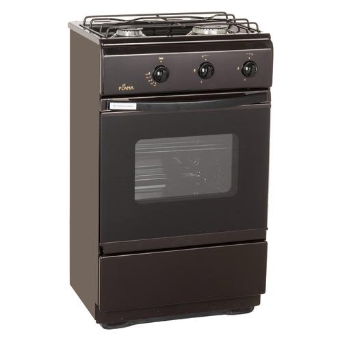 цена на Газовая плита FLAMA CG 3202 B, газовая духовка, коричневый