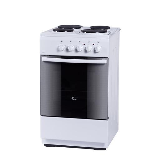 Электрическая плита FLAMA FE 1403 W, эмаль, белый электрическая плита flama ae 1403 w белый