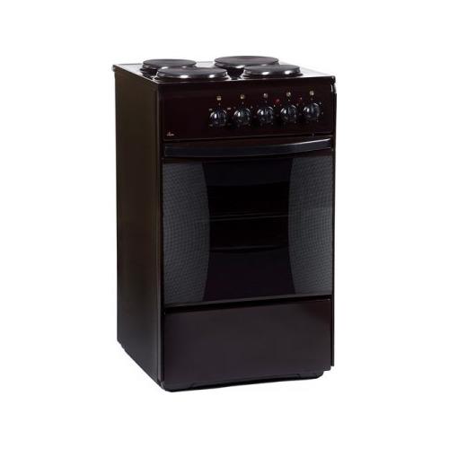 Электрическая плита FLAMA FE 1403 B, эмаль, коричневый FLAMA