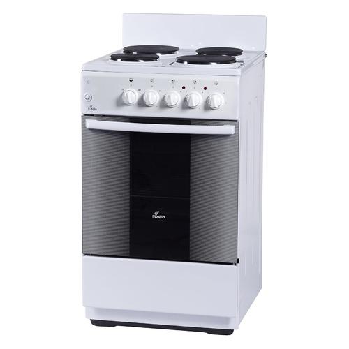 цена на Электрическая плита FLAMA FE 1402 W, эмаль, белый