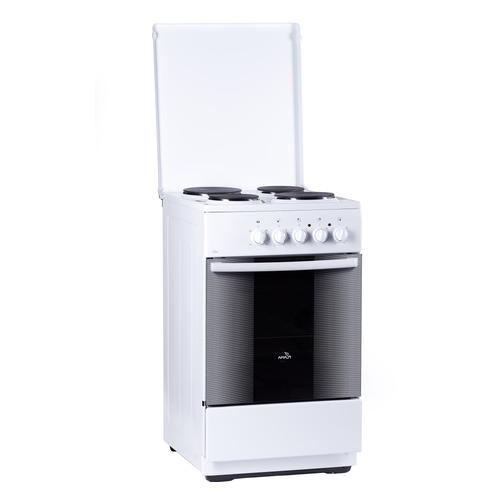 цена на Электрическая плита FLAMA FE 1401 W, эмаль, белый
