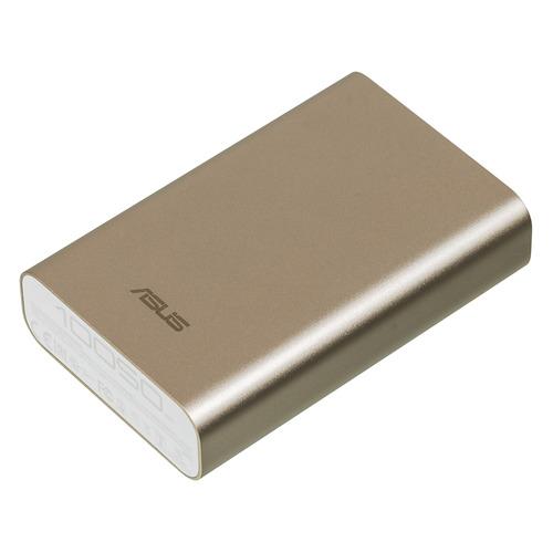 Внешний аккумулятор (Power Bank) ASUS ZenPower ABTU005, 10050мAч, золотистый [90ac00p0-bbt078] стоимость