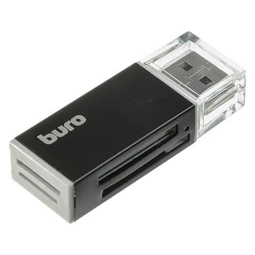 Фото - Картридер внешний BURO BU-CR-3104, черный ключ рожковый kraft кт 700535 24 27 мм хром ванадиевая сталь cr v