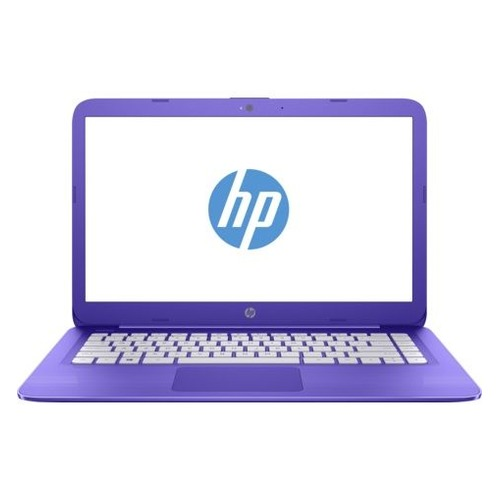 Ноутбук HP Stream 14-ax012ur, 14, Intel Celeron N3060 1.6ГГц, 2Гб, 32Гб eMMC, Intel HD Graphics 400, Windows 10, 2EQ29EA, фиолетовый ноутбук hp stream 14 ax012ur 14 intel celeron n3060 1 6ггц 2гб 32гб ssd intel hd graphics 400 windows 10 2eq29ea фиолетовый
