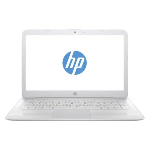 Ноутбук HP Stream 14-ax013ur, 14, Intel Celeron N3060 1.6ГГц, 2Гб, 32Гб eMMC, Intel HD Graphics 400, Windows 10, 2EQ30EA, белый ноутбук hp stream 14 ax013ur 14 intel celeron n3060 1 6ггц 2гб 32гб ssd intel hd graphics 400 windows 10 2eq30ea белый