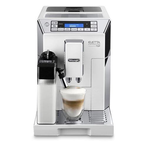 Кофемашина DELONGHI Eletta ECAM45.764.W, белый цены онлайн