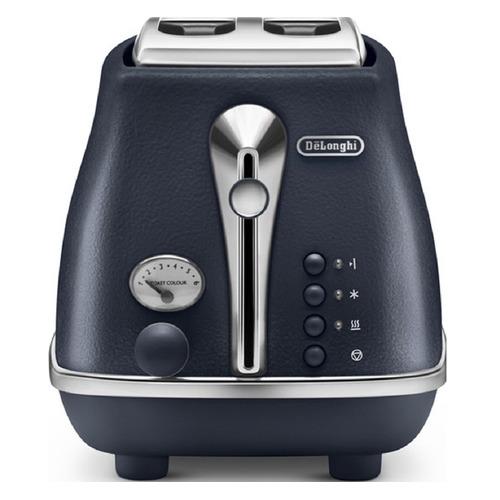 Тостер DELONGHI CTOE 2103.BL, синий [0230120024] тостер de longhi ctoe 2103 bl icona elements синий