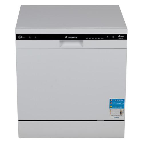 Посудомоечная машина CANDY CDCP 8/Е-07, компактная, белая [32000980] посудомоечная машина hyundai dt205 компактная белая