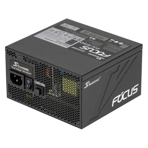 Блок питания SEASONIC FOCUS Plus SSR-650PX, 650Вт, 120мм, черный, retail