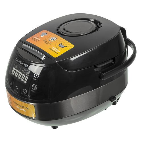 Мультиварка POLARIS PMC 0517AD/G, 860Вт, черный/медный цена и фото