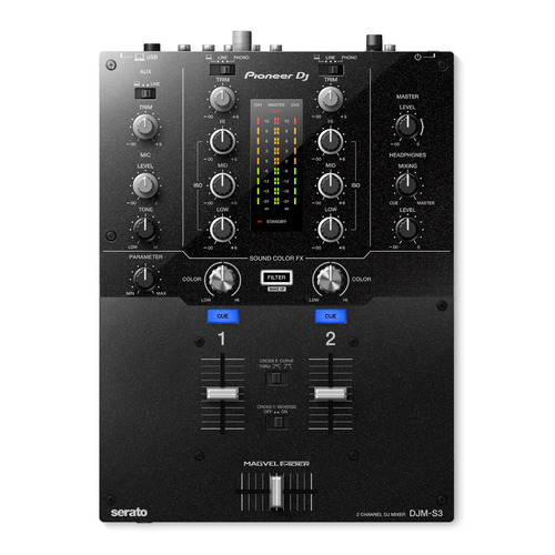 Музыкальный пульт PIONEER DJM-S3