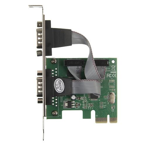 Контроллер PCI-E WCH382 2xCOM Ret контроллер orient xwt pe2s1p pci e 2xcom 1lpt mcs9901cv ret