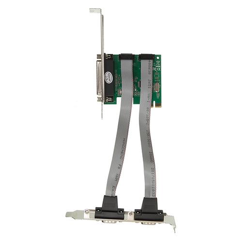 Контроллер PCI-E WCH382 1xLPT 2xCOM Ret контроллер orient xwt pe2s1p pci e 2xcom 1lpt mcs9901cv ret