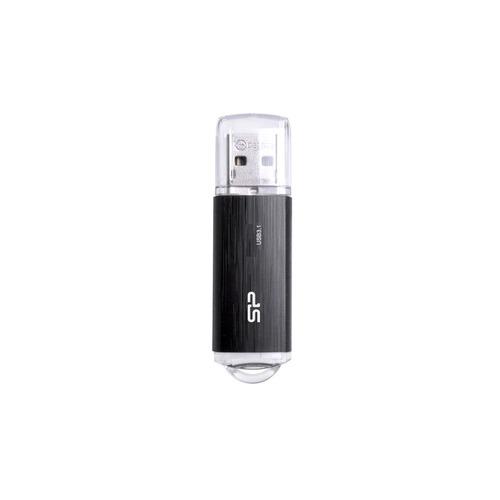 Флешка USB SILICON POWER Blaze B02 64ГБ, USB3.1, черный [sp064gbuf3b02v1k] SILICON POWER
