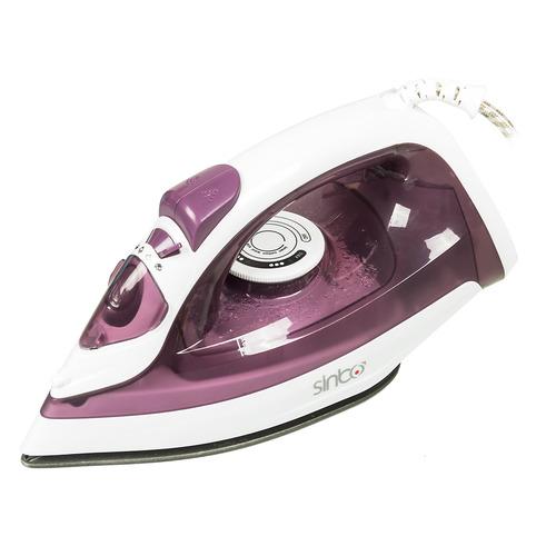 Утюг SINBO SSI 6602, 1800Вт, фиолетовый/ белый фен philips hp8229 60 1800вт белый и фиолетовый