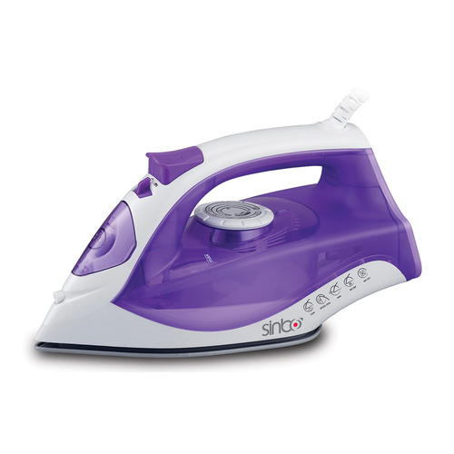Утюг SINBO SSI 6618, 2200Вт, фиолетовый/ белый