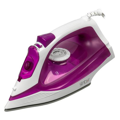 лучшая цена Утюг SINBO SSI 6619, 2400Вт, фиолетовый/ белый