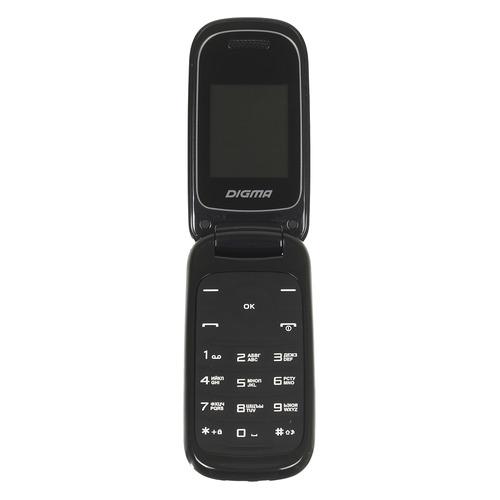 Мобильный телефон DIGMA A205 2G Linx, черный цена