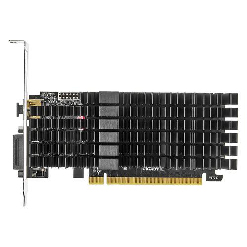 Видеокарта GIGABYTE nVidia GeForce GT 710 , GV-N710D5SL-2GL, 2ГБ, GDDR5, Low Profile, Ret