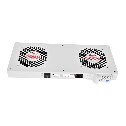 лучшая цена Модуль вентиляторный ЦМО (R-FAN-2T) 2 вент. с термостатом серый (упак.:1шт)