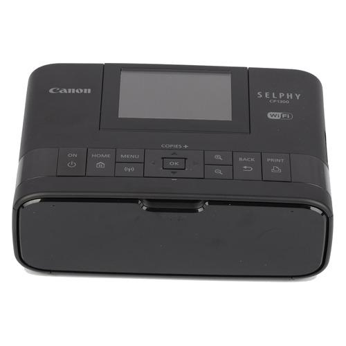 Фото - Компактный фотопринтер CANON Selphy 1300, черный [2234c002] компактный фотопринтер canon selphy cp1300 white