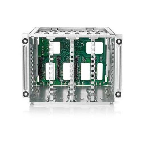 цена на Корзина для жестких дисков HPE DL38X Gen10 SFF Box1/2 Cage/Backplane Kit (826691-B21)