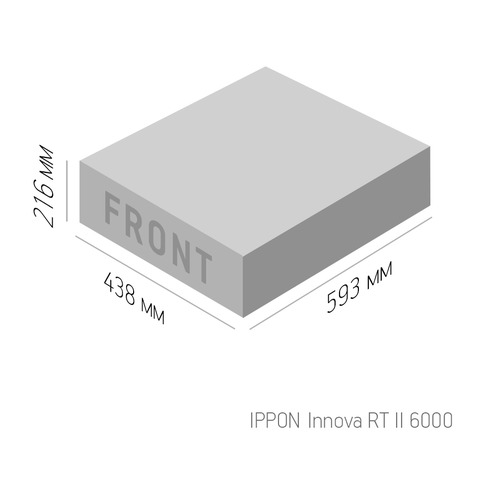 цена на ИБП IPPON Innova RT II 6000, 6000ВA [1005639]