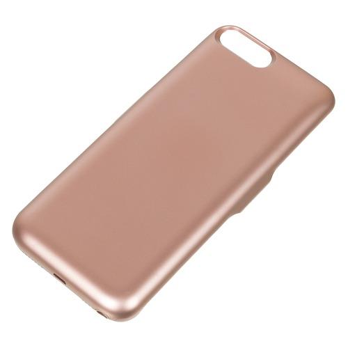 цена на Внешний мод батарея DF iBattery-18s для iPhone 6 Plus/6s Plus/7 Plus/8 Plus 4200mAh Lightning розовы