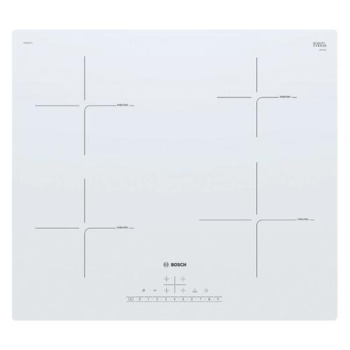 лучшая цена Индукционная варочная панель BOSCH PUE612FF1J, индукционная, независимая, белый