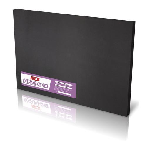 Фото - Шумоизоляция Kicx Extrablock 6 (компл.:1шт) 1000x750x6мм коннектор kicx quick connector ver 2 черный упак 1шт 2041075