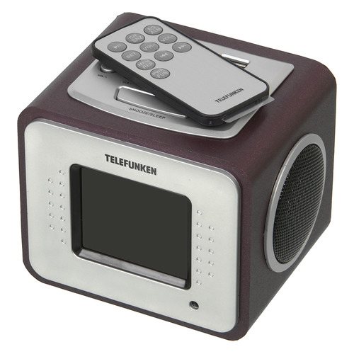 Радиоприемник TELEFUNKEN TF-1575 аудиомагнитола telefunken tf srp3503b серый 6вт mp3 fm dig usb bt sd