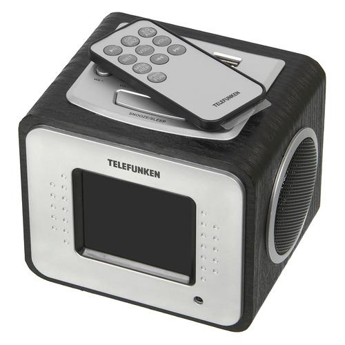 Фото - Радиоприемник TELEFUNKEN TF-1575 аудиомагнитола telefunken tf srp3503b серый 6вт mp3 fm dig usb bt sd