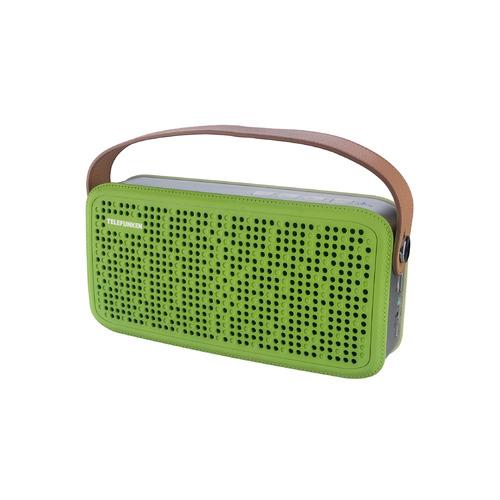 Портативная колонка TELEFUNKEN TF-PS1230B, 8Вт, зеленый / коричневый [tf-ps1230b(зеленый)] цена