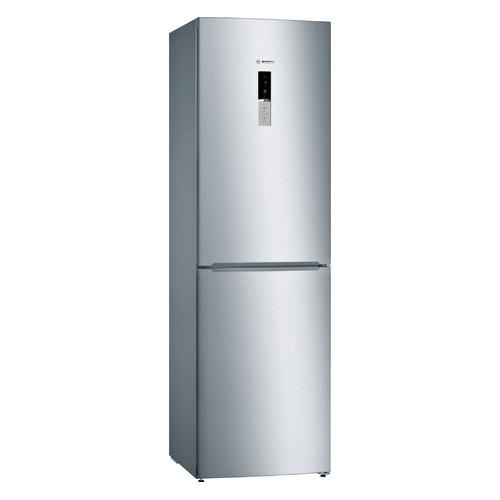 лучшая цена Холодильник BOSCH KGN39VL17R, двухкамерный, нержавеющая сталь