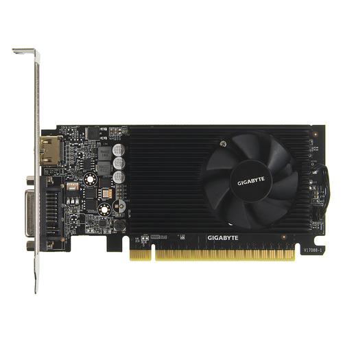 Видеокарта GIGABYTE nVidia GeForce GT 730 , GV-N730D5-2GL, 2Гб, GDDR5, Low Profile, Ret