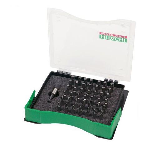 Набор бит HITACHI 752325, 43шт набор инструментов hitachi 753000