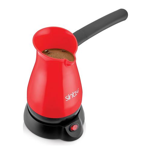 лучшая цена Кофеварка SINBO SCM 2948, Электрическая турка, красный
