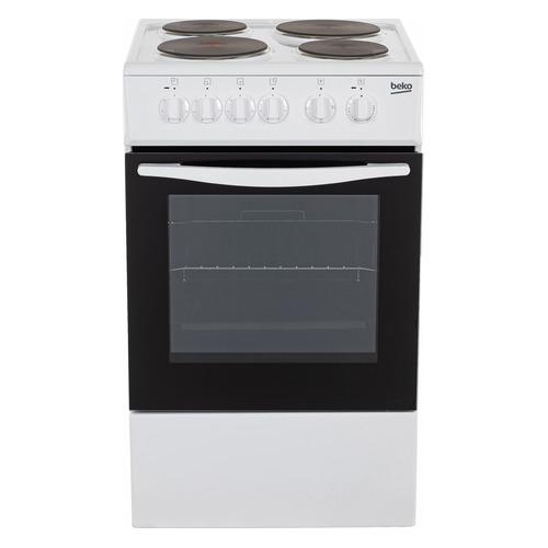 Электрическая плита BEKO FCS46000, эмаль, белый цена 2017