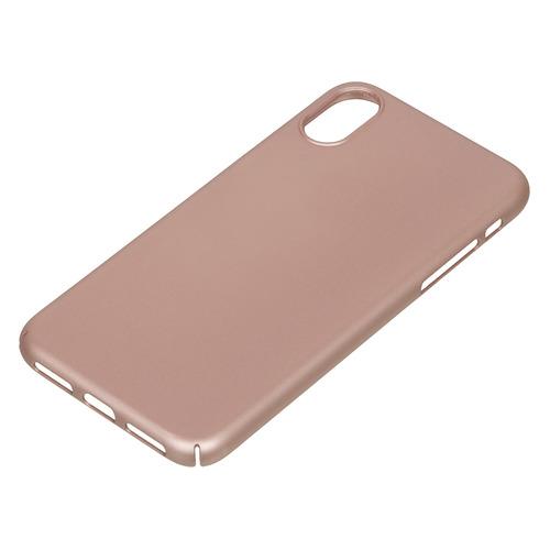 Чехол (клип-кейс) DEPPA Air Case, для Apple iPhone X/XS, розовое золото [83323] цена и фото