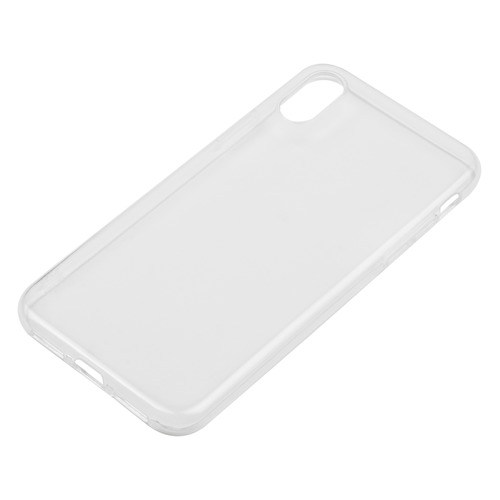 Чехол (клип-кейс) DEPPA Gel Case, для Apple iPhone X/XS, прозрачный [85335] чехол накладка deppa gel plus case матовый для apple iphone x xs розовое золото