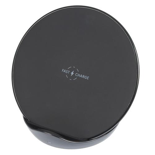 Беспроводное зарядное устройство BURO QF4 QC3.0, USB type-C, 3A, черный, пластик  - купить со скидкой