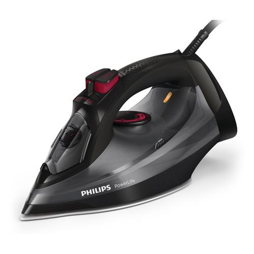 цена на Утюг PHILIPS GC2998/80, 2400Вт, черный/ бордовый