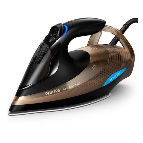 Утюг PHILIPS GC4939/00, 3000Вт, коричневый/ черный утюг philips gc4905 40 3000вт 240г мин керам