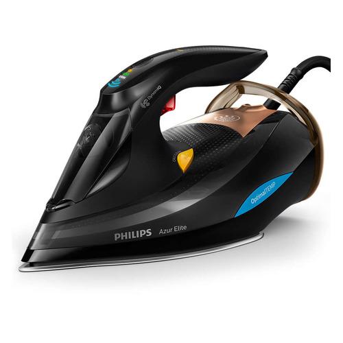 Утюг PHILIPS GC5033/80, 3000Вт, черный/ бронзовый утюг philips gc4905 40 3000вт 240г мин керам