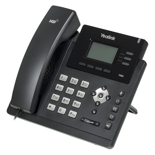 SIP телефон YEALINK SIP-T40G sip телефон yealink sip t58a