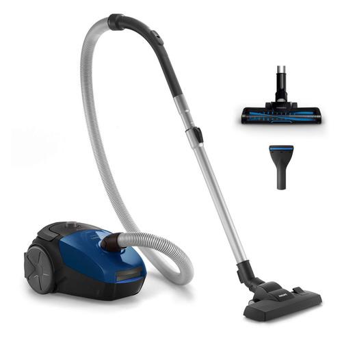 цена на Пылесос PHILIPS PowerGo FC8296/01, 2000Вт, синий/черный