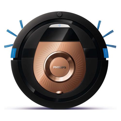Робот-пылесос PHILIPS SmartPro Compact FC8776/01, 24Вт, черный/бронзовый недорого