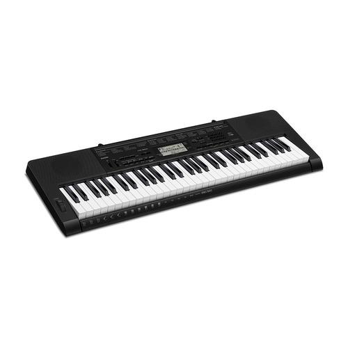 Синтезатор CASIO CTK-3500, 61, невзвешенная, полноразмерные, 48 черный