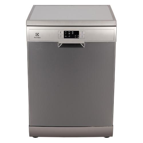 Посудомоечная машина ELECTROLUX ESF9552LOX, полноразмерная, серебристая посудомоечная машина полноразмерная electrolux eea917100l белый